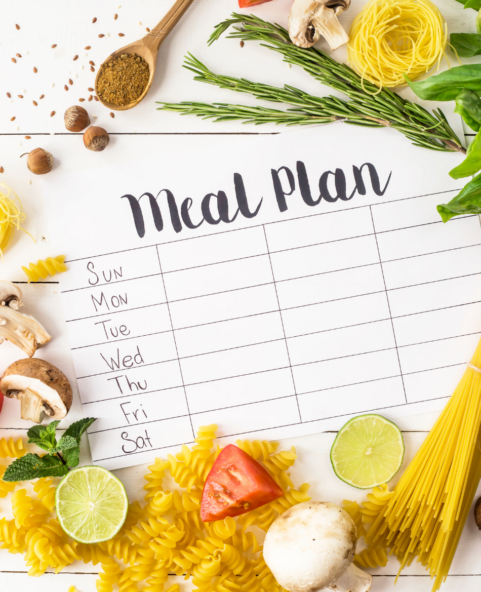 5-DAY SCHOOL NIGHT MEAL PLAN (PART A)